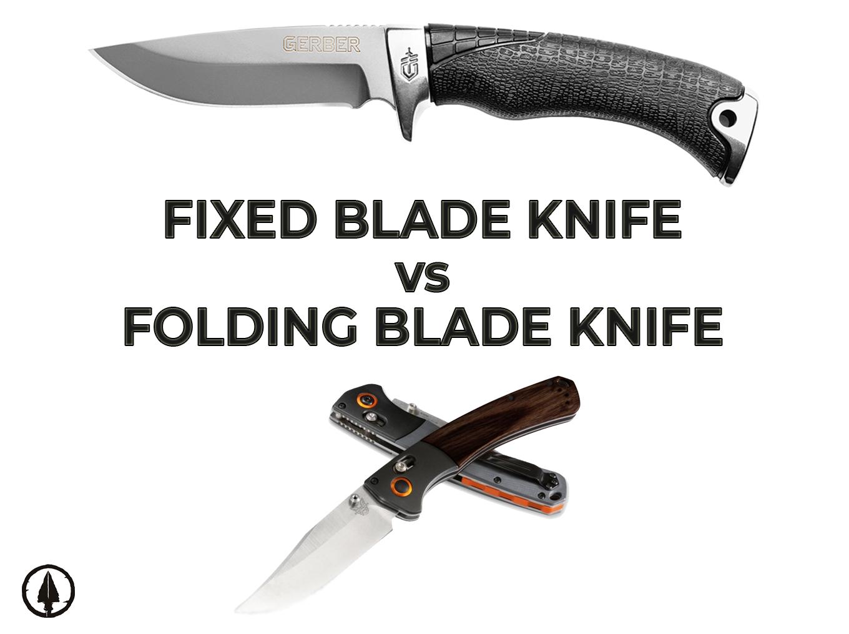 Fixed Blade knife vs Folder Blade Skinning knife
