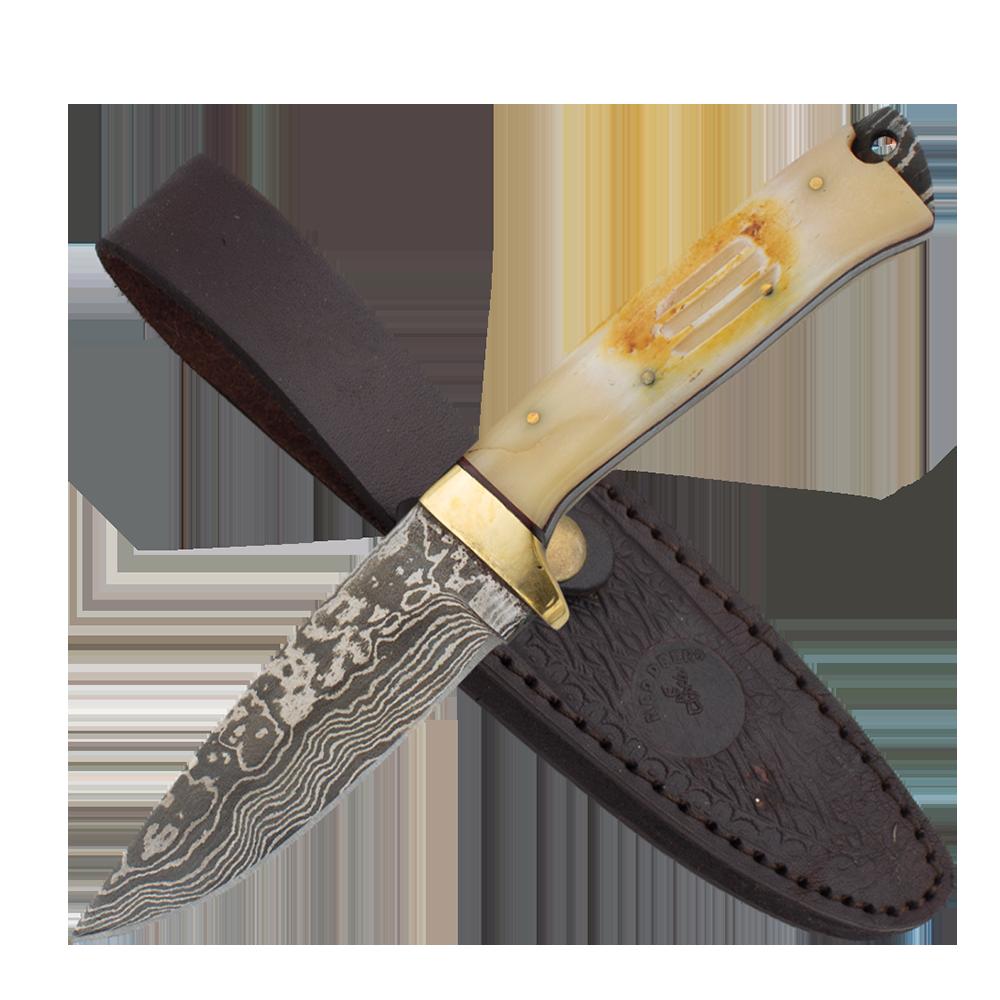 Red deer hunting knife