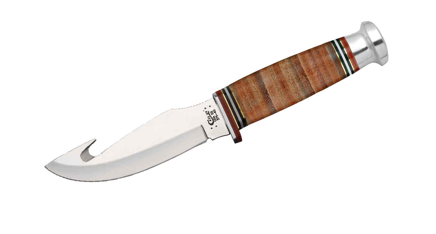 Case Mushroom Gut Hook Hunting Knife