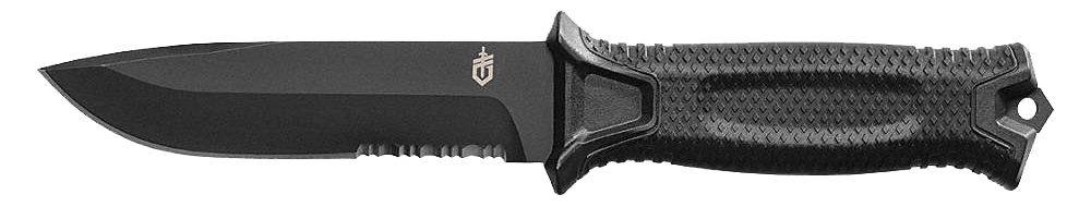 High carbon steel fixed knife