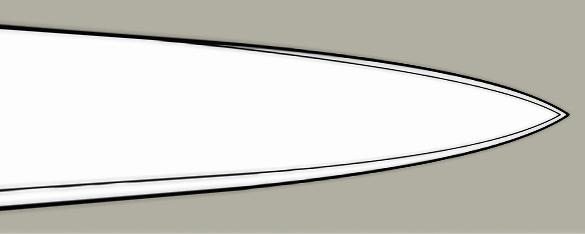 Pen blade design