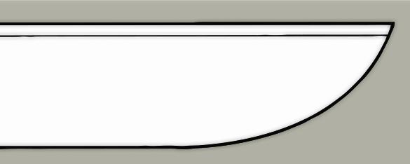 Sheepsfoot blade design
