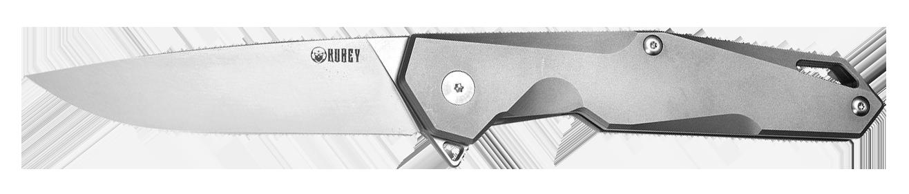 Titanium knife-handle material
