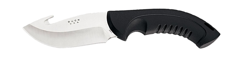 Gut hook blade shape design
