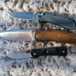 Hunting knife blade shape design cover photo