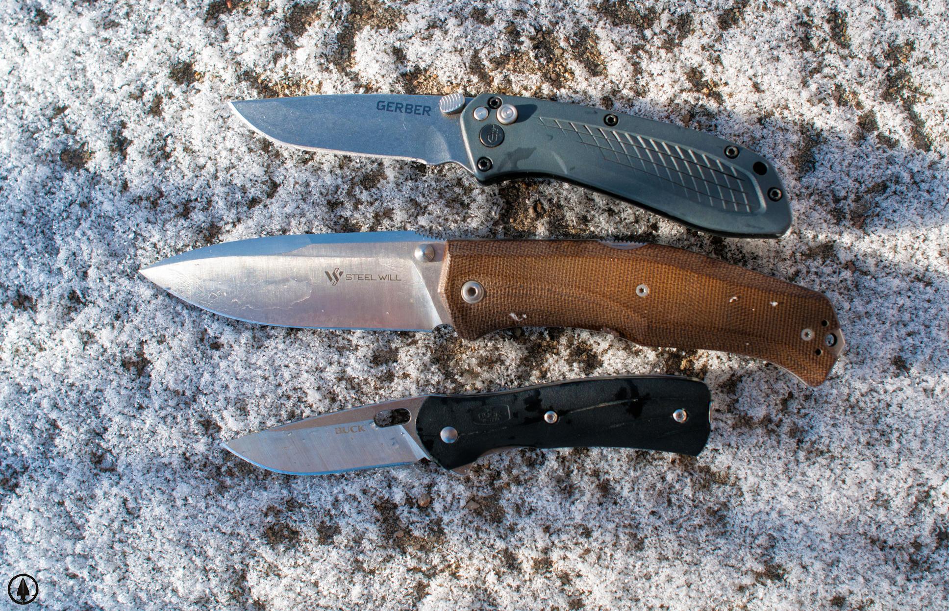 Hunting knife blade shape design cover photo