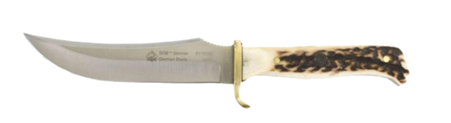 Trailing point blade shape design