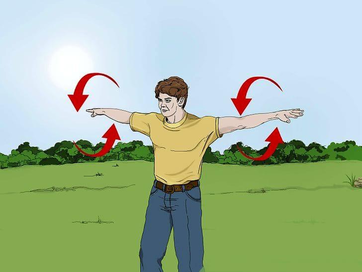 Knife throwing basics: body preparation