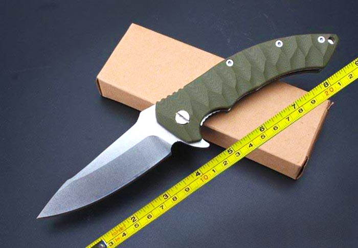 Skinning knife blade length