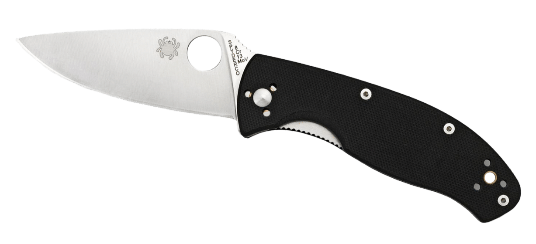 Spyderco Tenacious plain-edge folding skinning knife