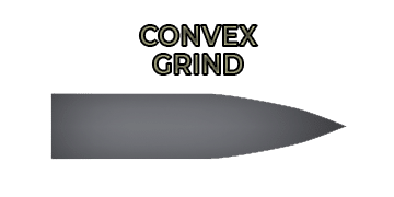Convex grind