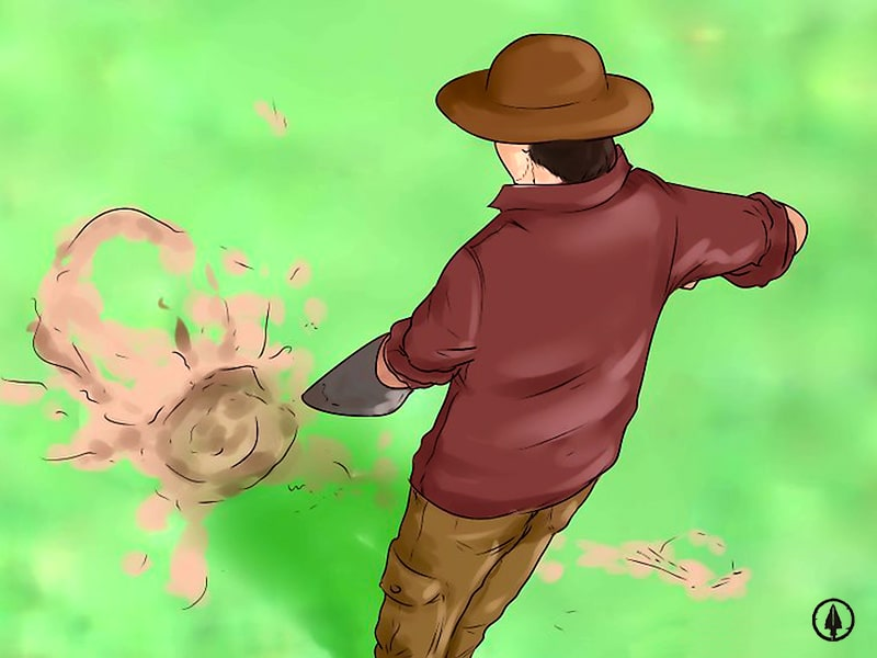 How to dispose of the waste