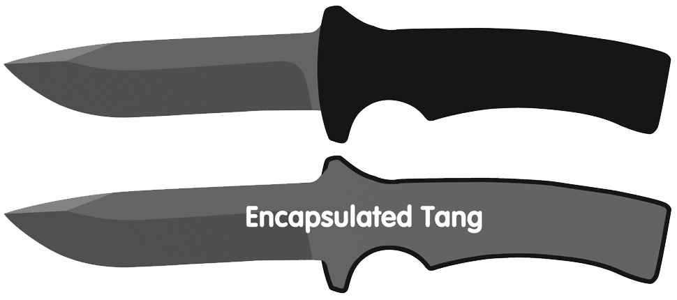 Encapsulated Knife Tang