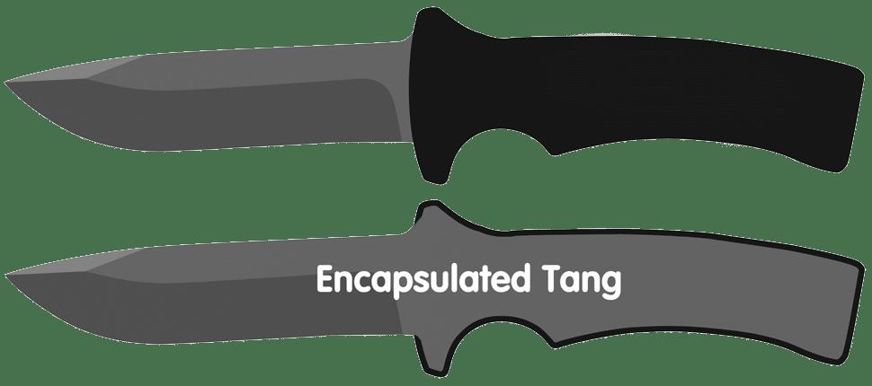 Encapsulated Knife Tang
