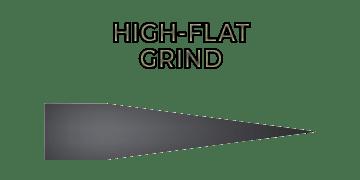 High-flat grind