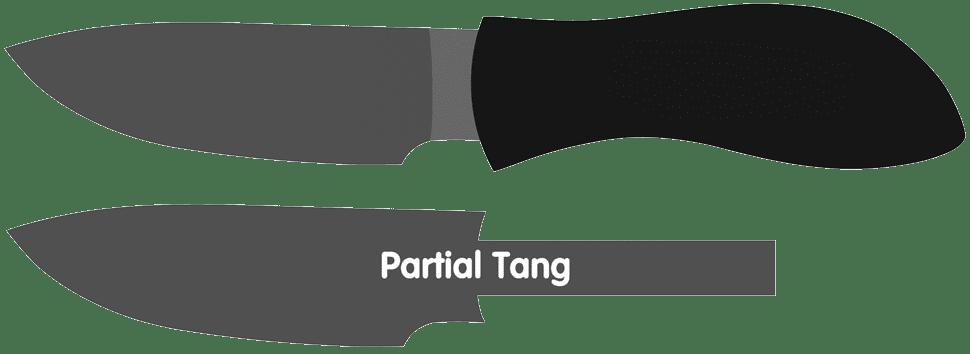 Partial Knife Tang