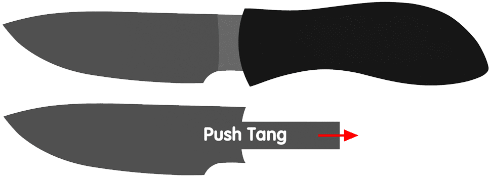Push Knife Tang