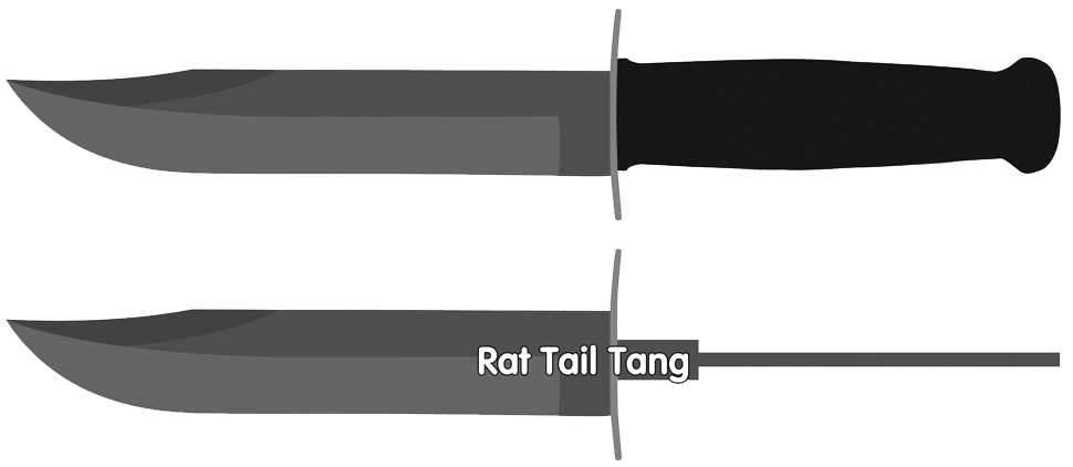 Rat-tail Knife Tang