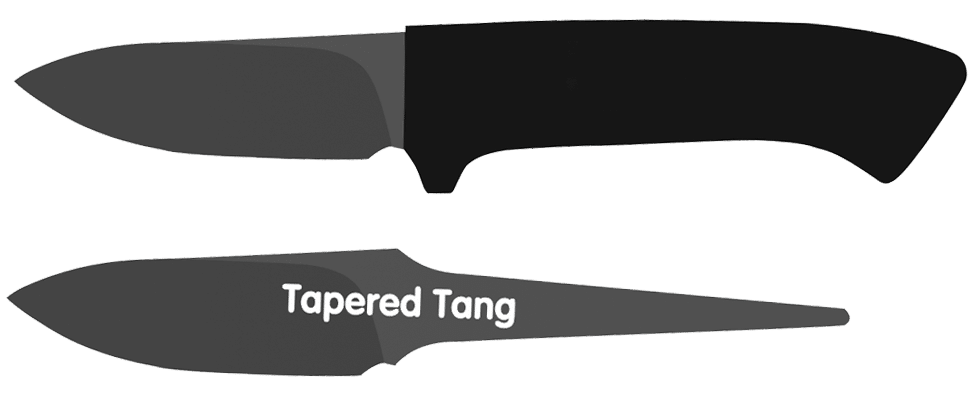 Tapered Knife Tang